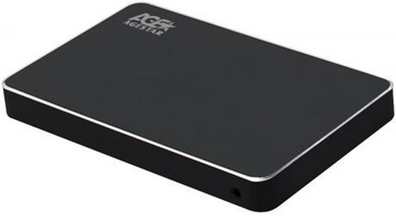 Внешний корпус для HDD AgeStar 3UB2AX2 SATA I/II/III алюминий черный 2.5 внешний корпус для hdd thermaltake muse 5g st0041z sata iii