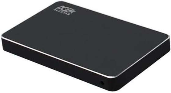 "Внешний корпус для HDD AgeStar 3UB2AX2 SATA I/II/III алюминий черный 2.5"" корпус 2 5 agestar sub2a7 sata usb2 0"