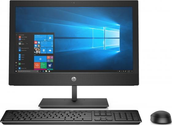 "Моноблок HP ProOne 400 G4 20"" HD+ PG G5400T (3.1)/4Gb/500Gb 7.2k/HDG/DVDRW/Windows 10 Home Single Language 64/WiFi/BT/клавиатура/мышь"