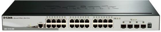 Коммутатор D-Link DGS-1510-28X 24G 4SFP+ настраиваемый