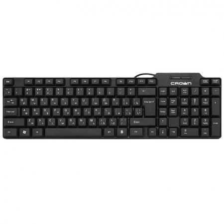 CROWN CMK-485 [CM000002174] Клавиатура {102 клавиши, кабель 1,8м, USB} цена и фото