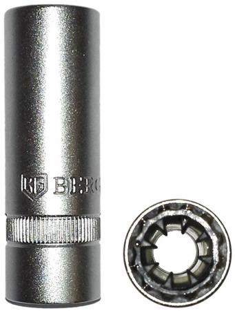 Головка свечная BERGER BG-16SPS 1/2 16мм свечная головка магнитная berger 1 2 21 мм bg 21spsm