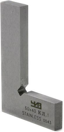 Угольник ЧИЗ УШ 42092 6 см нержавеющая сталь слесарный