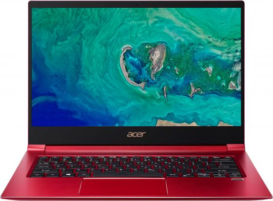 "Ультрабук Acer Swift 3 SF314-55G-5345 14"" 1920x1080 Intel Core i5-8265U 256 Gb 8Gb nVidia GeForce MX150 2048 Мб красный Linux NX.H5UER.001"