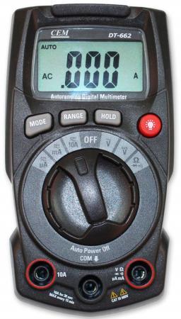 Мультиметр CEM DT-662 индикатор cem dt 2g