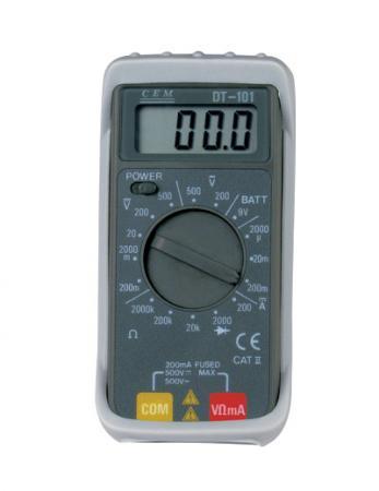 Мультиметр CEM DT-102 цифровой мультиметр cem dt 101 цифровой компактный