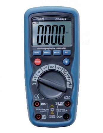 Мультиметр CEM DT-9915 цифровой мультиметр cem dt 916 600в 10а