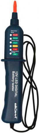 Тестер DUWI 26042 4 аккумулятора автомобильный diy блистер тестер duwi 26041 7