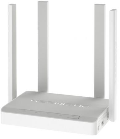 Беспроводной маршрутизатор Keenetic Viva 802.11aс 1267Mbps 2.4 ГГц 5 ГГц 4xLAN USB серый KN-1910 цена 2017