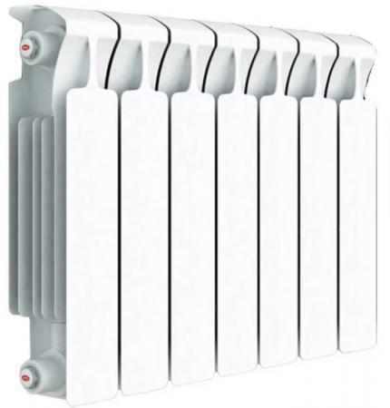 цена на Радиатор биметаллический RIFAR Monolit 500/100 8 секций м/севое500мм ВхГ:577х100мм секция80мм