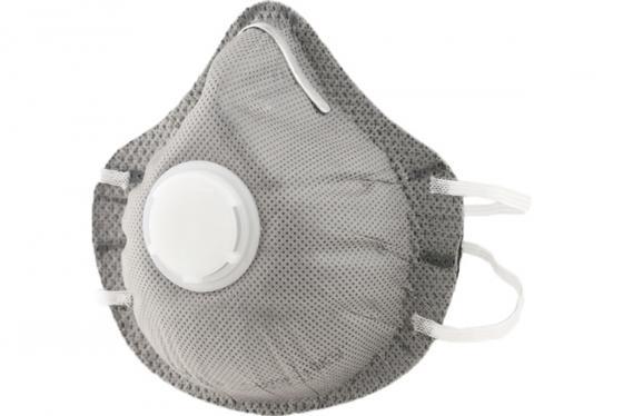 Респиратор от пыли СИБРТЕХ 89248 п/маска фильтрующая c угольным слоем с клапаном выдоха ffp1 10 шт недорого