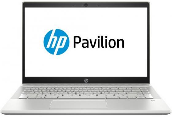 """Ноутбук HP Pavilion 14-ce0018ur 14"""" 1920x1080 Intel Core i5-8250U 256 Gb 8Gb Intel UHD Graphics 620 золотистый Windows 10 Home 4HB77EA"""