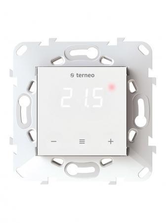 Терморегулятор TERNEO s для теплого пола. Термозащита. 3 000 ВА. 16 А. 5-40 °С. стоимость