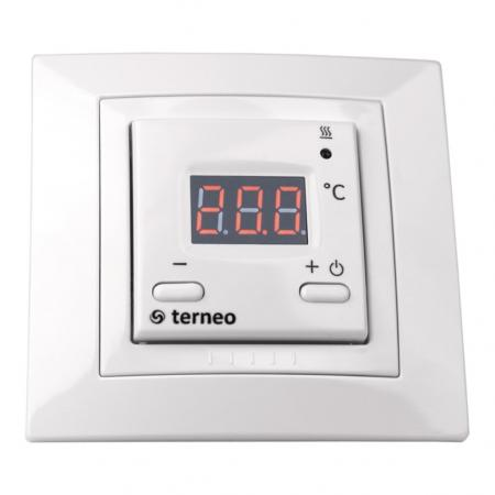 Терморегулятор TERNEO st для теплого пола. 3 000 ВА. 16 А. 10-40 °С. стоимость