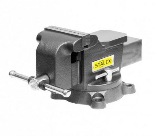Тиски слесарные STALEX Гризли M50 125 х 125 мм. 360°. 12.5 кг. недорого