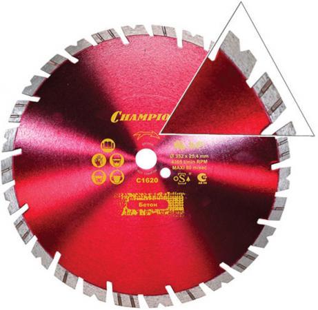 CHAMPION Диск алмазный универсальный 350/25,4 Fast Gripper, шт цены онлайн