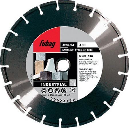 FUBAG Алмазный диск AB-I (абразив/сегмент._ диам. 350/25.4 мм), шт