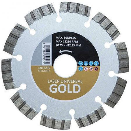 HITACHI Алмазный диск для универсального использования GOLD O125X2 , шт