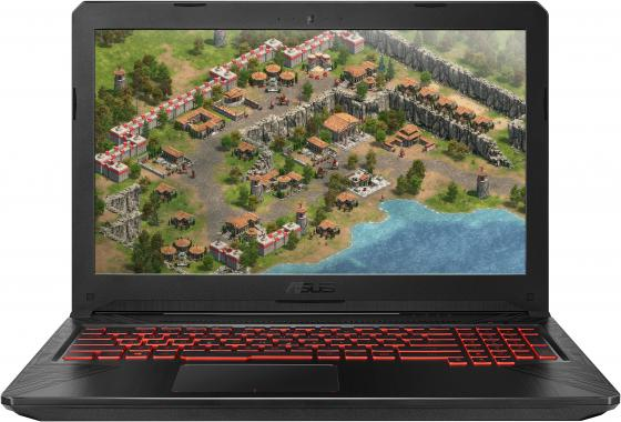 Ноутбук ASUS Gaming FX504GE-E4246 15.6 1920x1080 Intel Core i7-8750H 1 Tb 256 Gb 8Gb nVidia GeForce GTX 1050Ti 4096 Мб черный DOS 90NR00I3-M11840 ноутбук hp pavilion gaming 17 ab408ur 17 3 1920x1080 intel core i7 8750h 1 tb 128 gb 8gb bluetooth 5 0 nvidia geforce gtx 1050ti 4096 мб черный windows 10 home 4gx31ea