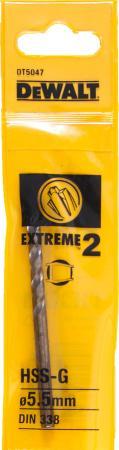Сверло DeWalt Extreme2 DT 5047 1шт