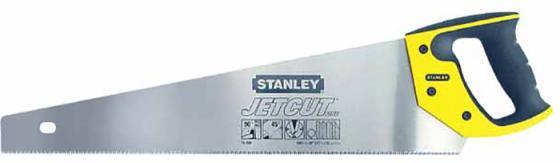Stanley ножовка по дереву jet-cut с мелким закаленным зубом 11 х 500mm (2-15-599), шт ножовка stanley jet cut sp 16h point 2 15 281