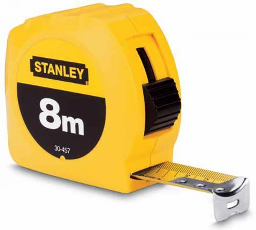"""Stanley рулетка измерительная """"stanley"""" 8м х 25мм б/уп. (1-30-457), шт стоимость"""
