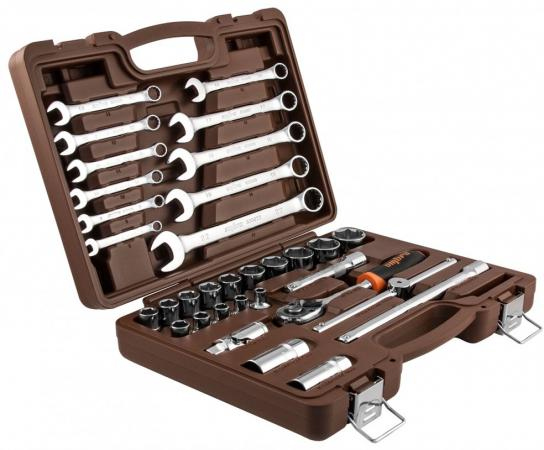 OMT33S Набор инструмента универсальный 1/2DR, 33 предмета, шт omt33s набор инструмента универсальный 1 2dr 33 предмета шт