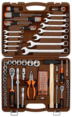 OMT93S Набор инструмента универсальный 1/4, 1/2DR, 93 предмета, шт omt33s набор инструмента универсальный 1 2dr 33 предмета шт