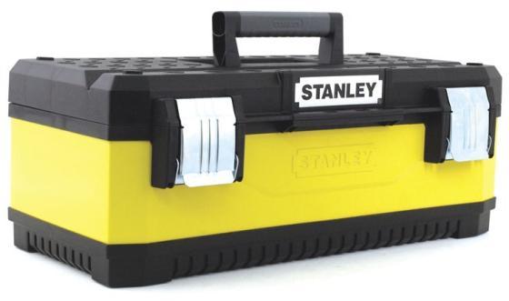 """Stanley ящик для инструмента """"stanley"""" металлопластмассовый желтый (20080) 20"""""""