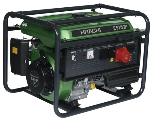 HITACHI Генератор E57 (S3P), шт инверторный генератор hitachi e10 u