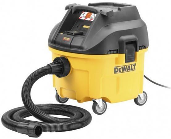 DeWALT DWV900L-QS Промышленный пылесос для сухой/влажной уборки класса L, шт