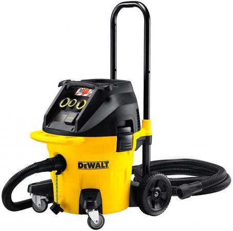 Промышленный пылесос DeWalt DWV902L-QS сухая влажная уборка жёлтый чёрный