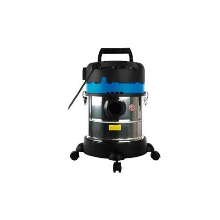 лучшая цена Пылесос Workmaster ПС-1500/25Р сухая уборка серебристый чёрный синий