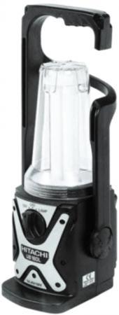Фонарь переносной Hitachi UB 18 DL чёрный фонарь ручной эра ub 601 чёрный
