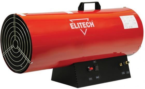 Тепловая пушка газовая Elitech ТП 50ГБ 50000 Вт красный чёрный цена и фото
