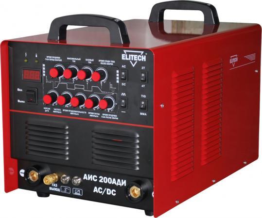 Сварочный инвертор Elitech АИС 200АДИ-AC/DC сварочный инвертор сварог tig 250 p ac dc r62