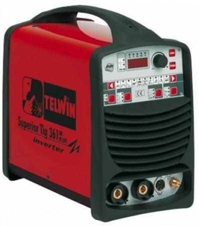 Сварочный инвертор TELWIN SUPERIOR TIG361 DC HF/LIFT400V электроприбор donolux hf 350w 24