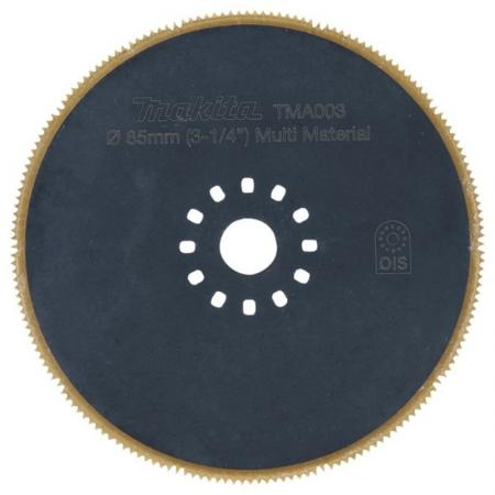Makita B-21294Насадка д\\мультитул,диск пильн круг,ф85мм,универсал, шт мультитул реноватор makita tm3000cx2