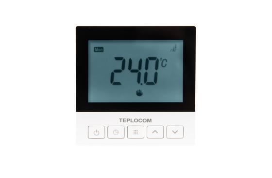 лучшая цена Термостат комнатный Teplocom TSF-Prog-220/16A