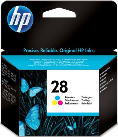 Картридж HP C8728AE №28 цветной для DeskJet3320 3420 3550 3650 3845 5550 картридж hp pigment ink cartridge 70 black z2100 3100 3200 c9449a