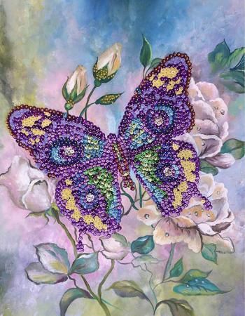 Мозайка из пайеток Волшебная мастерская Бабочка
