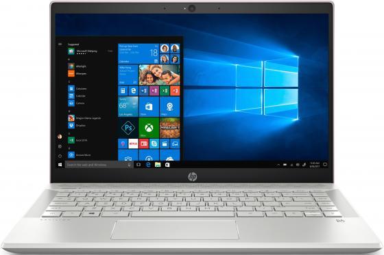 Ноутбук HP Pavilion 14-ce0021ur<4HB06EA> i5-8250U (1.6)/8Gb/256Gb SSD/14.0FHD IPS/NV GT MX150 2GB/FPR/Cam HD/Win10 (Tranquil Pink) цена