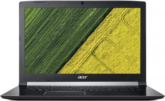 "Ноутбук Acer Aspire A717-72G-76J1 Core i7 8750H/16Gb/1Tb/SSD256Gb/nVidia GeForce GTX 1060 6Gb/17.3""/IPS/FHD (1920x1080)/Linux/black/WiFi/BT/Cam все цены"