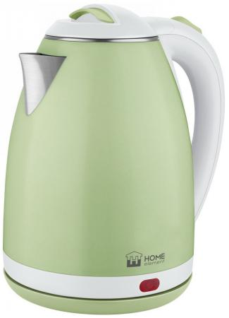 HOME ELEMENT HE-KT193 Чайник зеленый нефрит home element he kt193 светлый рубин чайник металлический