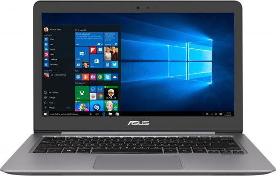 """Ноутбук Asus Zenbook UX310UA-FB1107 Core i3 7100U/8Gb/SSD128Gb/Intel HD Graphics 620/13.3""""/IPS/QHD+ (3200x1800)/Endless/grey/WiFi/BT/Cam/Bag ноутбук asus zenbook ux310ua fb1102 core i3 7100u 4gb ssd256gb intel hd graphics 620 13 3"""