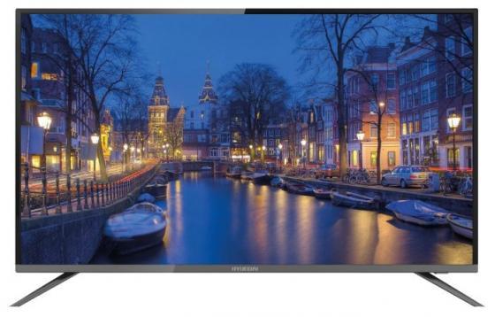 "Телевизор LED 50"" Hyundai H-LED50F452BS2 черный 1920x1080 50 Гц VGA SCART цены онлайн"