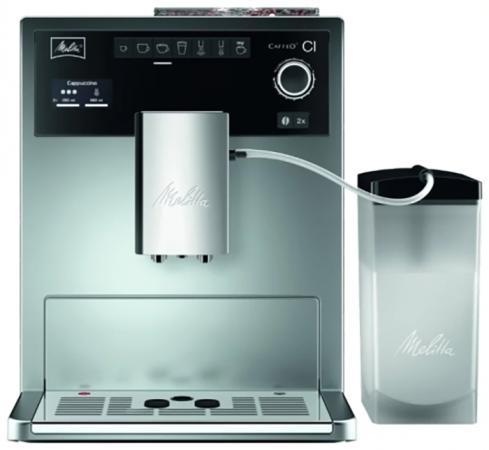 Кофемашина Melitta Caffeo CI 1450Вт серебристый melitta caffeo ci