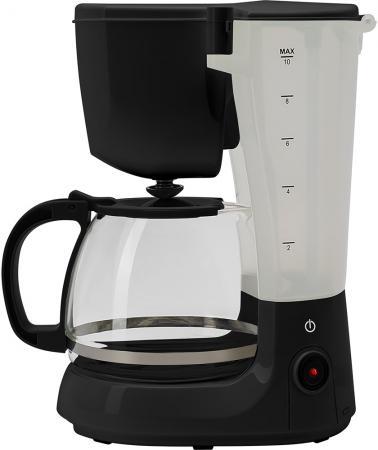 Кофеварка капельная Polaris PCM 1214 750Вт черный кофеварка polaris pcm 1527e 850 вт золотисто черный