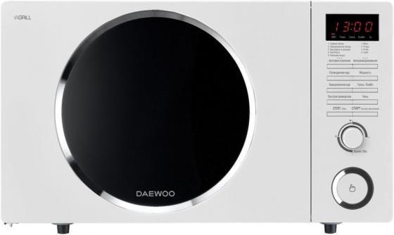 лучшая цена Микроволновая печь DAEWOO KQG-81HRW 800 Вт белый