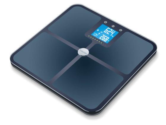 Весы напольные электронные Beurer BF950 макс.180кг черный